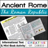 The Roman Republic Reading Handout & Mini Book Activity -
