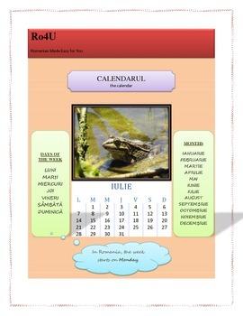 The Romanian calendar