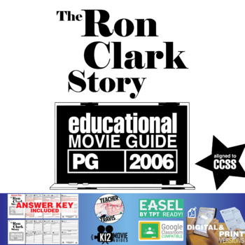 The Ron Clark Story Movie Guide | Questions | Worksheet (PG - 2006)