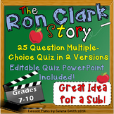 The Ron Clark Story Movie Quiz