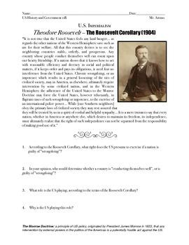 The Roosevelt Corollary (US History 11)