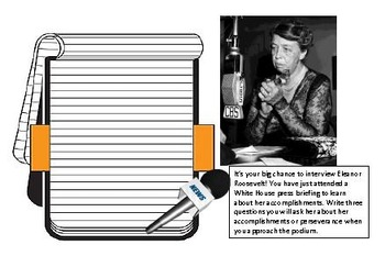 The Roosevelts Interview Note Pages