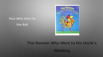 The Rooster Who Went to His Uncle's Wedding Power Point