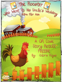 The Rooster Who Went to His Uncle's Wedding - QR Code Story Retell! FREEBIE