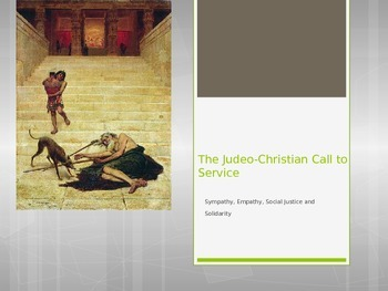 The Roots of Catholic Social Justice: The Judeo-Christian Call to Service