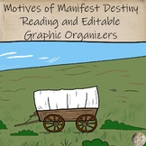Motives of Westward Expansion Reading, Questions, and Graphic Organizers