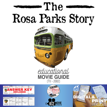 The Rosa Parks Story Movie Guide | Questions | Worksheet (TV - 2002)