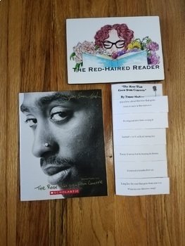 The Rose That Grew From Concrete by Tupac Shakur Foldable ...