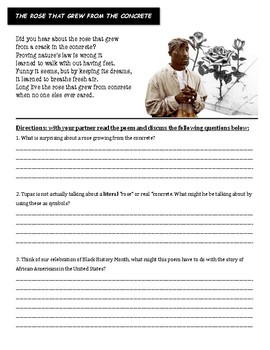 The Rose that Grew From the Concrete - Tupac Shakur Poem Analysis