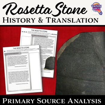 The Rosetta Stone History & Translation Primary Source Document Analysis