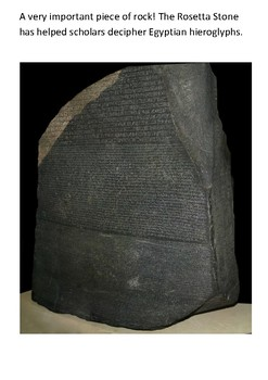 The Rosetta Stone Word Search