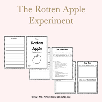 The Rotten Apple Experiment