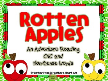 The Rotten Apple Hunt: An Adventure Reading CVC and Non-Sense Words