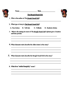 The Rough-Faced Girl Reading Comprehension Quiz