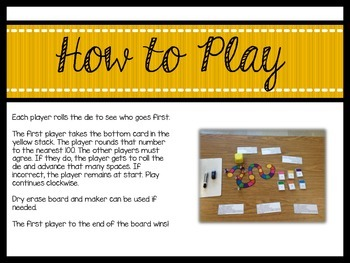 The Rounding Game!