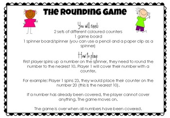 The Rounding Game