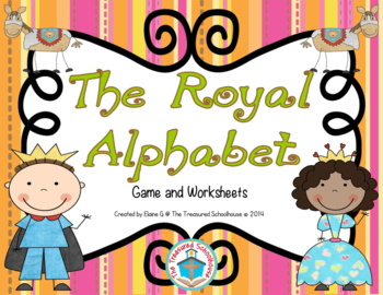 The Royal Alphabet Game Mat for A-Z