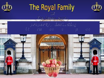 SALE!!! The Royal Family - Speaking and Vocabulary Expansion