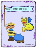 """The Royal King Of Ing Mini Book:  Verbs, using """"ing"""" words (Great for TK or K)"""