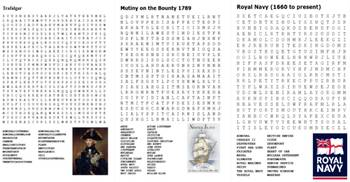 The Royal Navy Word Search Pack