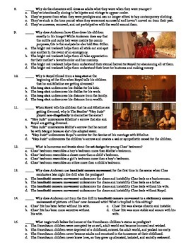 The Royal Tenenbaums Film (2001) 15-Question Multiple Choice Quiz