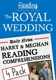 The Royal Wedding: Harry and Meghan Reading Comprehensions
