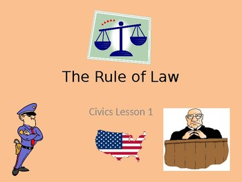 The Rule of Law -Power Point Presentation-Civics