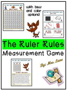 The Ruler Rules Measurement Game