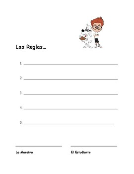 The Rules Contract / Contracto de las Reglas