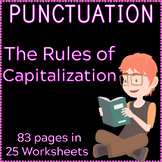 The Rules for Capitalization | Capital Letters | Worksheets | Assessments | ELA