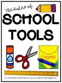 The Rules of School Tools