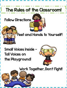 The Rules of the Classroom - Dr. Jean - Visual