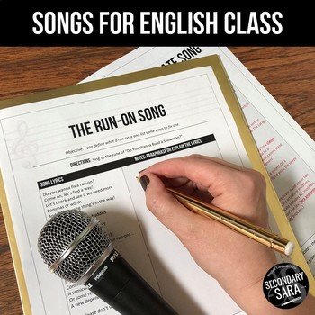 The Run-On Song: Grammar Mini-Lesson for English Class (All Grades)