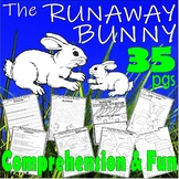 The Runaway Bunny Book Companion Literacy Thematic Unit Activity Packet Sub Plan