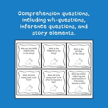 """""""The Runaway Bunny"""" By: Maragret Wise Brown, A Speech & Language Companion"""