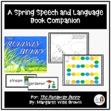 """The Runaway Bunny""  A Speech Therapy Book Companion for Spring and Easter"