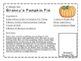 The Runaway Pumpkin: A Tasty Halloween unit