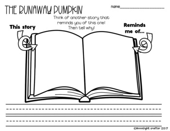 The Runaway Pumpkin Book Companion