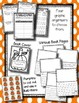 The Runaway Pumpkin --- Pumpkin Writing Book Activity With Graphic Organizers