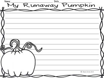 Visualizing FREEBIE inspired by The Runaway Pumpkin
