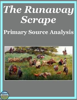 The Runaway Scrape Primary Source Analysis