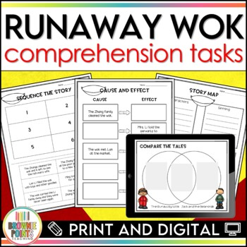 The Runaway Wok - Comprehension Activities