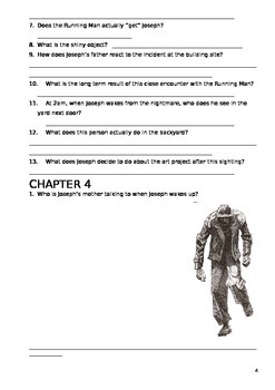 The Running Man Chapter Questions - Reading Comprehension Ch 1-4