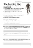 The Running Man Chapter Questions - Reading Comprehension Ch 9-11