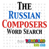 The Russian Composers Word Search