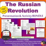 Russian Revolution Lecture and Storyboard Activity (World