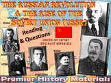 The Russian Revolution & Rise of the Soviet Union Reading & Questions