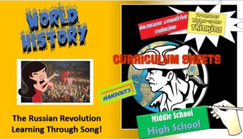 The Russian Revolution - Vocabulary and Song Activity