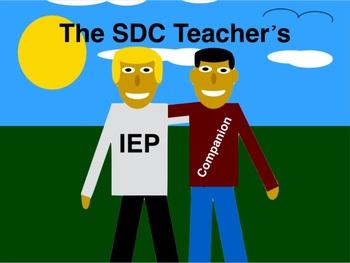 The SDC Teacher's IEP Companion