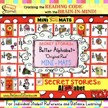 Mini SECRET STORIES® Alphabet (w/ Phonics Secrets!)